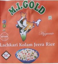 M.I.GOLD  LACHKARI KOLAM JEERA RICE 25 KG