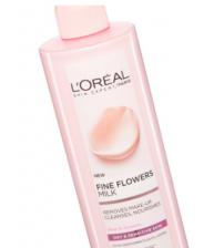 L'oreal Paris Fine Flower Remove Make-up Milk Cleanser 200ml