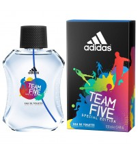 adidas Team Five Special Edition Eau De Toilette Spray for Men 100ml