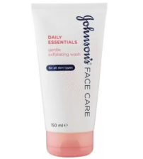 Johnson's Face Care Daily Essentails Gentle Exfoliating Wash (Imported Made In France) Face Wash  (150 ml)