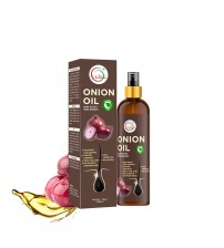 Caleo Onion Hair Oil 120 ml for Hair growth, Control Dandruff with Paraben Free Onion Oil, Olive Oil, Coconut Oil, Almond Oil extracts