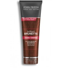 John Frieda Brilliant Brunette Visibly Deeper Color Deepening Conditioner, 8.3 Ounce, with Evening Primrose Oil, Infused with Cocoa