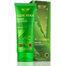 WOW SKIN SCIENCE Aloe Vera Peel Off Gel Mask - 100 mL - Tube  (100 ml)