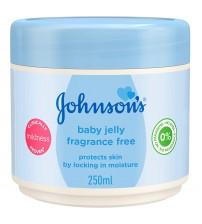 Johnson's Baby Jelly Fragrance-free (250 Ml)