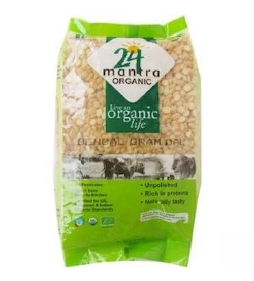 24 Mantra Organic Bengal Gram (chana) Dal 500G