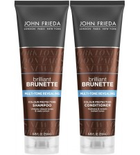 John Frieda Brilliant Brunette Visibly Deeper Color Deepening Conditioner, 8.3 Ounce, with Evening Primrose Oil, Infused with Cocoa Rate.3131