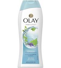 OLAY Fresh Outlast Purifiying Body Wash, Birch Water & Lavender - 400ml (13.5oz)  (400 ml)